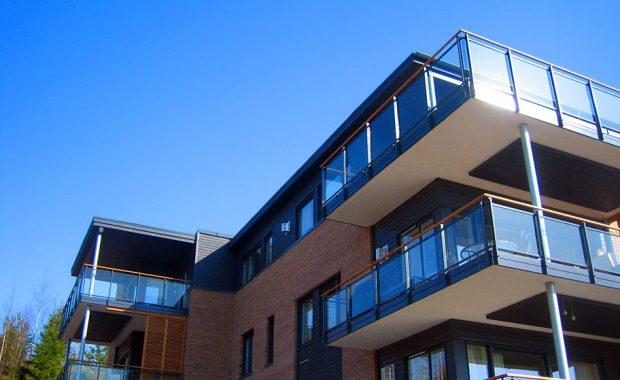 Rekkverk på balkonger, St. Hanshaugen Elverum BRL.